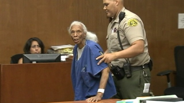 VIDEO: Doris Ann Gamble is charged with burglary for taking about $17,000 from various doctors offices.