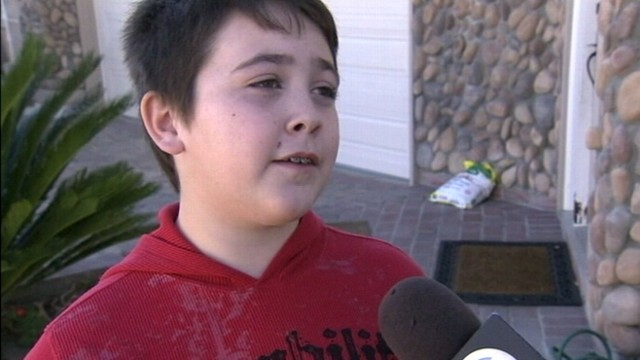 VIDEO: Robert Casteels son was allegedly threatened by 4th-grader with a knife.