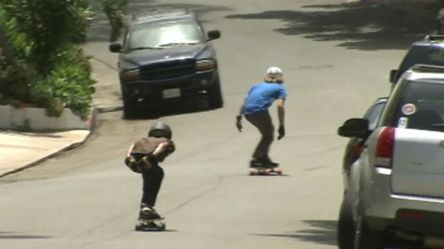 VIDEO: Los Angeles City Council ordinance gives police more power to ticket reckless skateboarders.