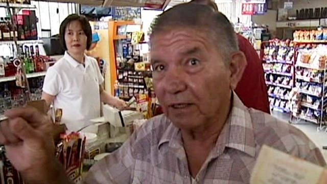 VIDEO: Max Coronado will share some of his $1.5 million winnings with the woman who sold him the ticket.
