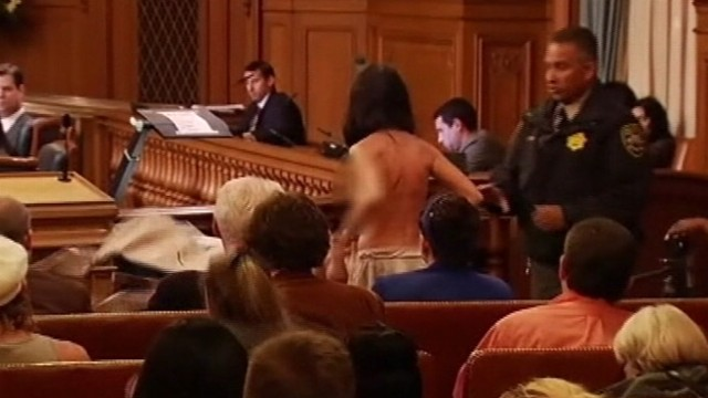 VIDEO: Lawmakers narrowly approve ordinance prohibiting exposed genitals in public places.