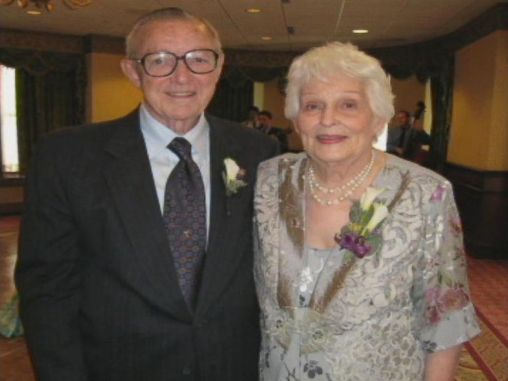 PHOTO: Bill Moore and his wife Bernadean Gibson are shown in this handout photo.