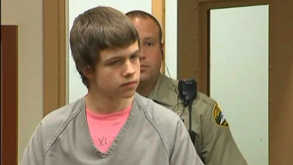 VIDEO: Rylan Salzman, 16, calmly explained that he beat his father to death with a cane.