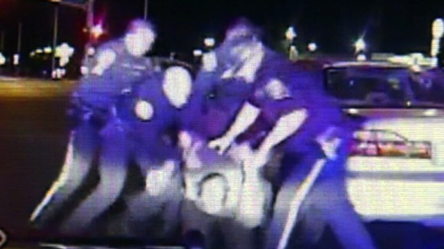 VIDEO: Nevada Highway Patrol officers thought the driver was intoxicated.