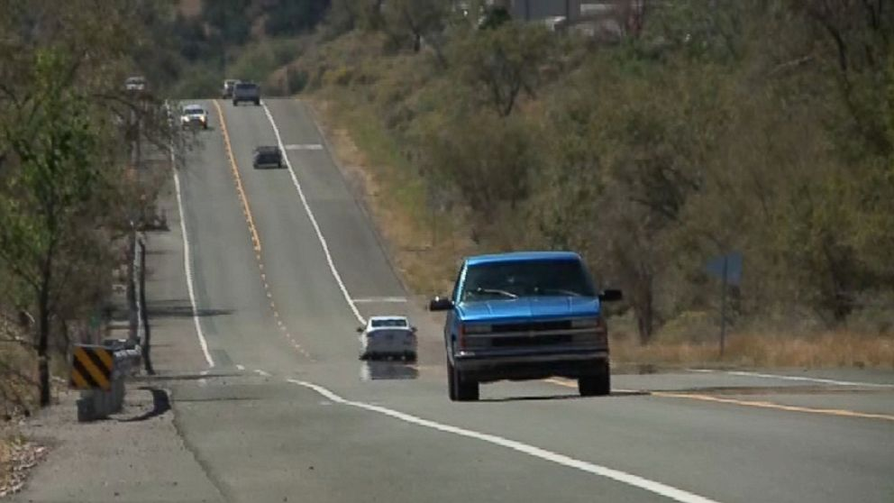 """VIDEO: Motorists will only hear """"America the Beautiful"""" along a portion of the highway in New Mexico if they drive 45 mph."""