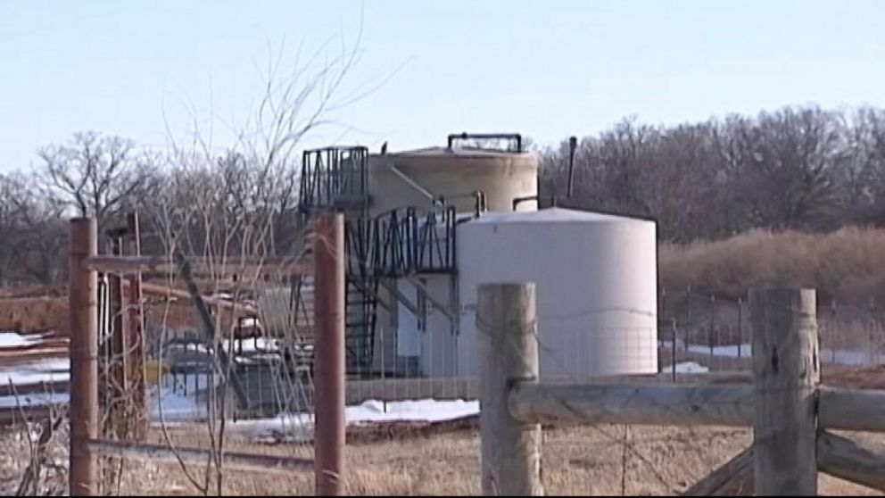 VIDEO: Some residents in Oklahoma believe the earthquakes and aftershocks are the result of fracking.