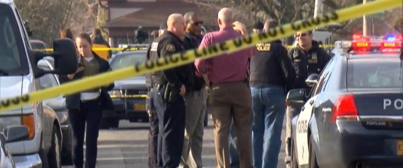 PHOTO: A shooting near a high school in Portland, Ore. was reported on Dec. 12, 2014.