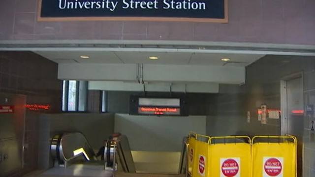 VIDEO: Washington Department of Labor investigates death at a Seattle transit station.