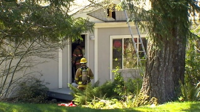 VIDEO: Detectives are handling the fire as a homicide after finding two female bodies.