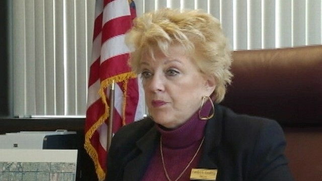 VIDEO: Carolyn Goodman hopes to raise awareness about funding for food-stamp programs.