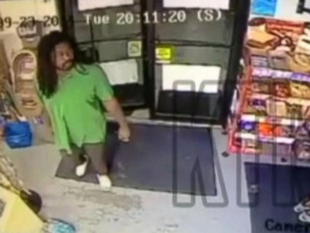 PHOTO: Surveillance video shows Jesse Matthew, who has been arrested in connection with the disappearance of University of Virginia student Hannah Graham, in a convenience store in Galveston, Texas, on Tuesday, September 23, 2014.