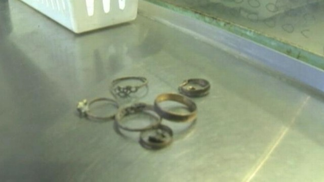 VIDEO: Modesto, Calif., employees under investigation for selling jewelry found in the citys sewers.