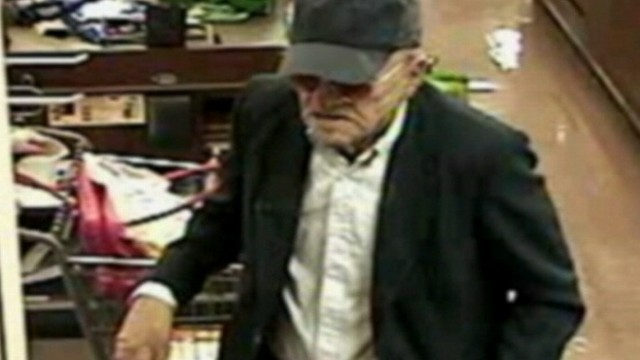 VIDEO: Suspect who has pulled off 16 bank robberies in California may be in disguise.