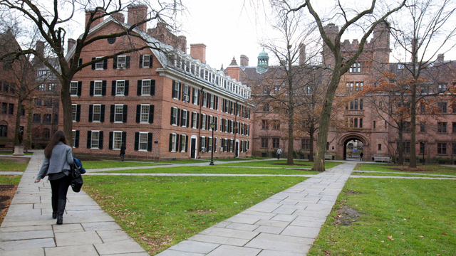 PHOTO: Old Campus at Yale University in New Haven, Conn., Nov. 28, 2012.