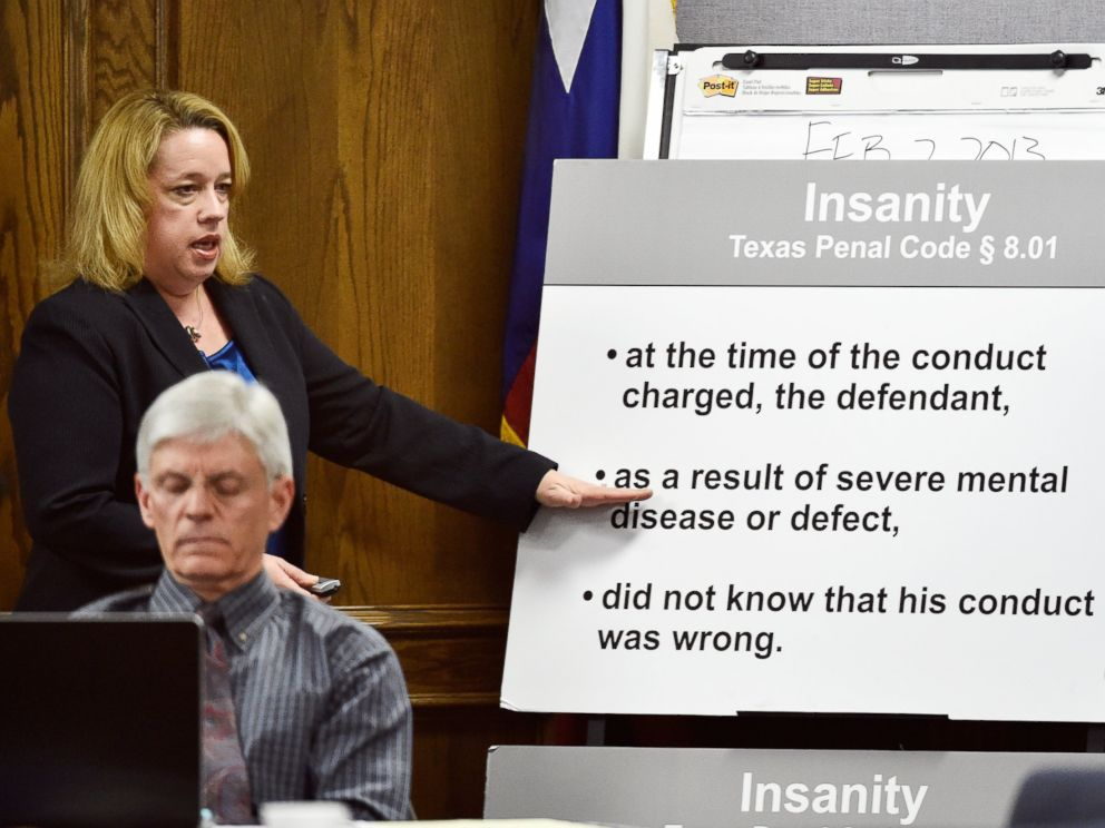 PHOTO: Assistant Attorney General Jane Starnes delivers her closing arguments during the capital murder trial of former Marine Cpl. Eddie Ray Routh in Stephenville, Texas on Feb. 24, 2015.