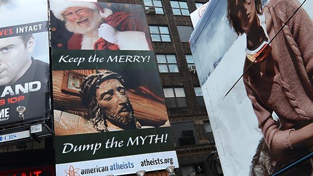 PHOTO: American Atheists billboard