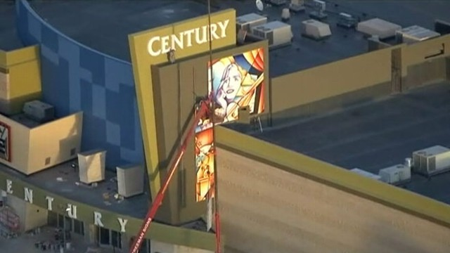 VIDEO: The Colorado theater where 12 people were killed last July will be renamed the Century Aurora.