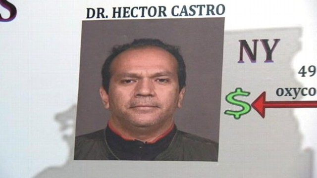 VIDEO: Dr. Hector Castro allegedly part of scheme that sold pills in New York, New Jersey and Pennsylvania.