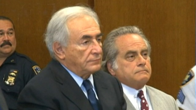VIDEO: Dominique Strauss-Kahn pleads not guilty to charges of attempted rape of a NYC hotel maid.
