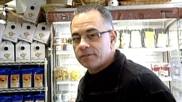 VIDEO: Former boss of the Gambino crime family claims he was hurt while trying to break up an argument.