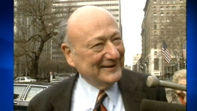 VIDEO: The former mayor of New York City dies after a long life in the public eye.