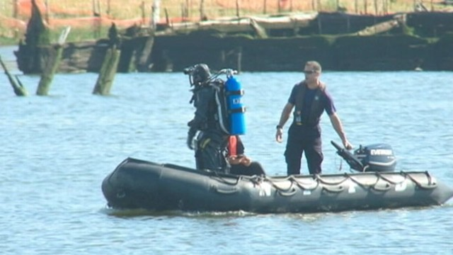VIDEO: Man, 44, and woman, 29, overturned in the waters of Coney Island Creek on July Fourth.