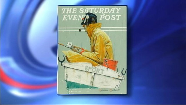 VIDEO: A Norman Rockwell painting has gone missing from a NY storage unit.