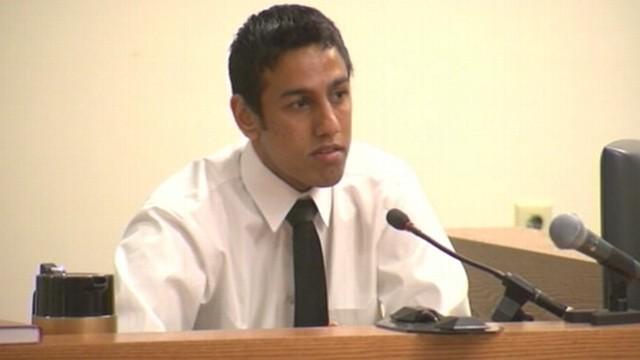 VIDEO: Lokesh Ohja testifies he helped Dharun Ravi aim webcam at Tyler Clementis bed.