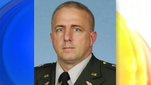 VIDEO: Capt. Bruce Clark was talking to his wife from Afghanistan during the shooting.