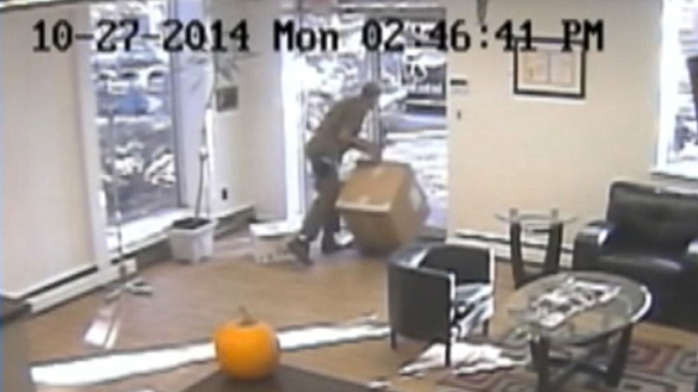 ups driver caught on video kicking 12k package video