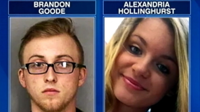 Florida police say Brandon Goode, 18, and Alexandria Hollinghurst, 17, left behind suicide notes.