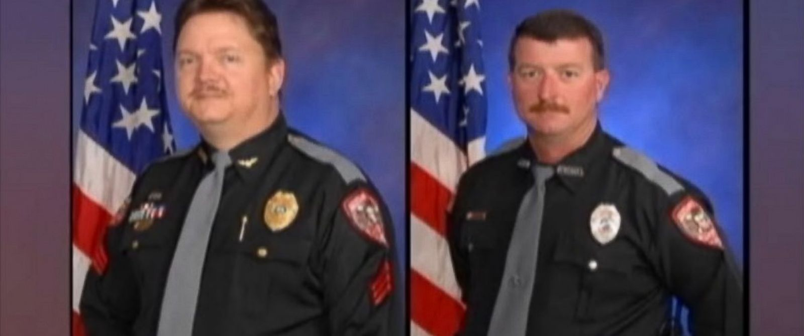 PHOTO: Two Fruitland Park polcie officers, David Borst, left, and George Hunnewell, right, are under investigation by the Florida Department of Law Enforcement for their alleged involvement in the Ku Klux Klan.
