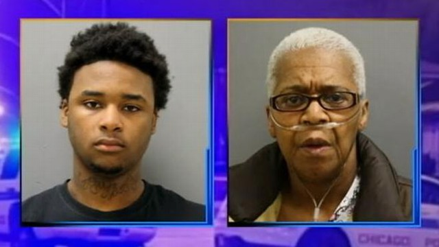 VIDEO: Chicago woman is accused of commissioning her grandson to shoot his grandfather to get at his money.