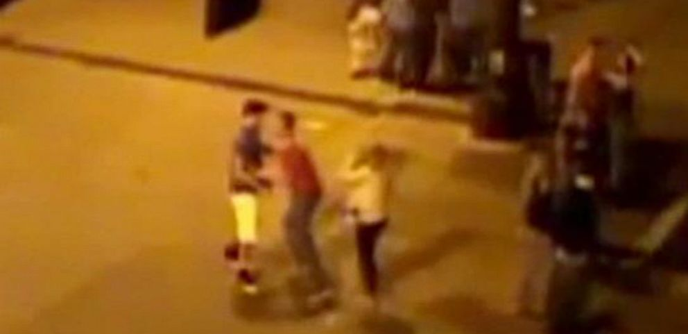 VIDEO: Minnesota police are searching for a man who allegedly kicked Isaac Kolstad.