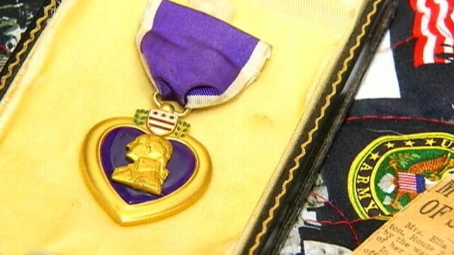 VIDEO: A Georgia woman traced a discarded medal to the sister of a soldier who died in World War II.