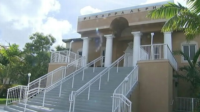 VIDEO: Florida International Universitys Pi Kappa Alpha under investigation for alleged drug dealing.