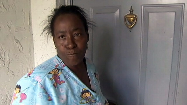 VIDEO: Sylvia Breakenridge found a stranger living in her home after week away.