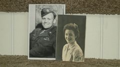 PHOTO: Norwood Thomas met Joyce Durrant while he was stationed outside of London in 1944.