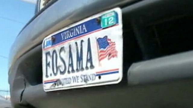 VIDEO: Virginia man is told by DMV to not use the personalized plate.
