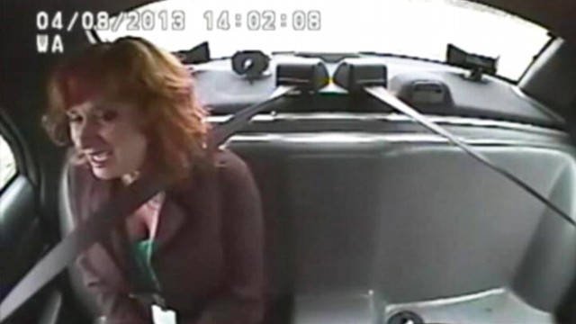 VIDEO: Michigan police say Kim Warrens alcohol level was more than twice the legal limit.