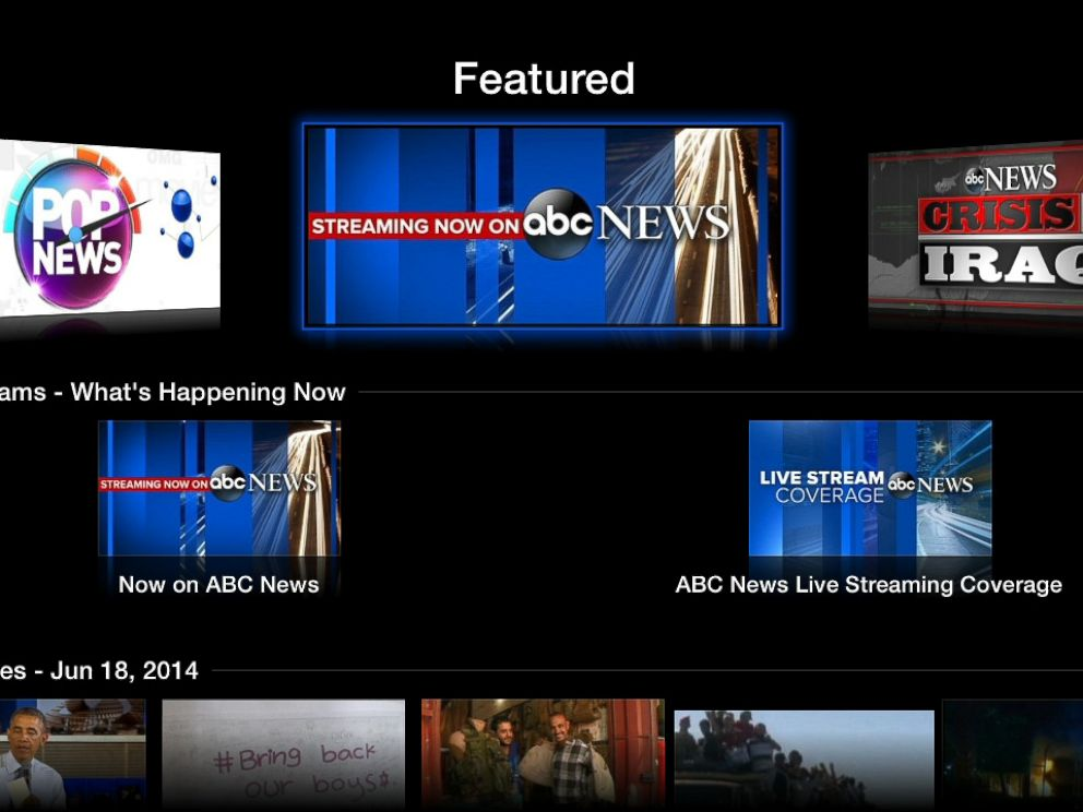 PHOTO: ABC News on Apple TV.