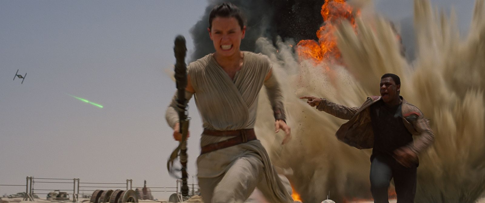 """PHOTO: A scene from the new trailer """"Star Wars: The Force Awakens."""""""