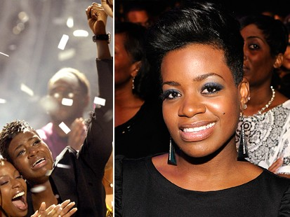 "PHOTO Fantasia is shown, left, on the night she won ""American Idol,"" and again in a 2009 file photo."
