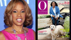 PHOTO Gayle King is shown, left.