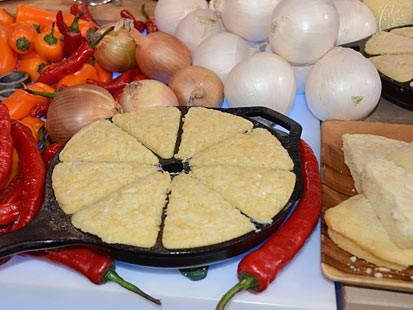 PHOTO: Elizabeth Karmels Vidalia Cornbread, is a great recipe seen on Good Morning America.