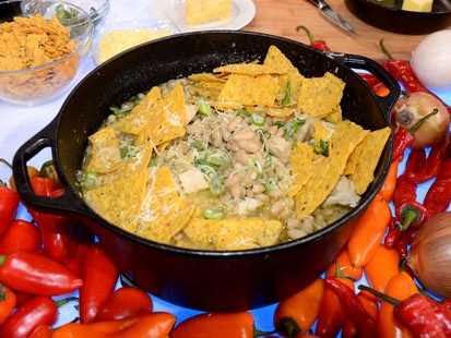PHOTO: Elizabeth Karmels Tennessee White Chili, is a great recipe seen on Good Morning America.