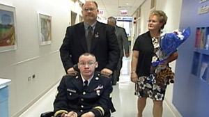 Honoring the Sacrifices of Family Who Care for Injured Service Members Family Members Who Care For Troops Get Support Through New Law