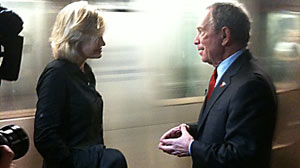 PHOTO New York City Mayor Michael Bloomberg told ABCs Diane Sawyer today that hes confident that those responsible for the failed Times Square bomb will be caught but called for patience with the investigation.