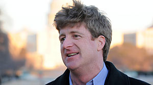 "PHOTO Rep. Patrick Kennedy talks with ABC News Christiane Amanpour in an exclusive interview airing on ""World News with Diane Sawyer"" at 6:30 PM and ""Nightline"" at 11:35 PM on Jan. 14"