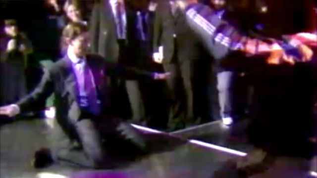 PHOTO: Prince Charles busts a move in this rare 1980s footage.